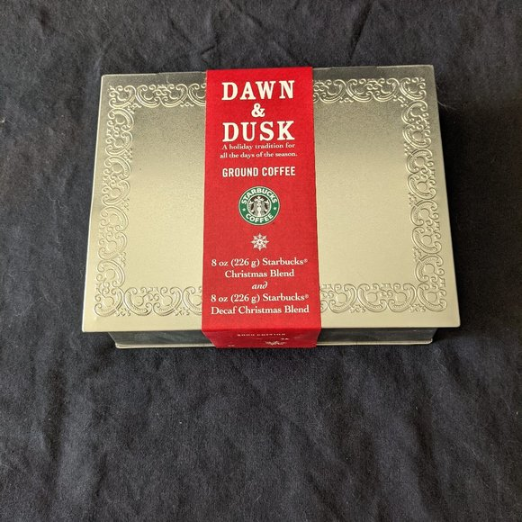2003 starbucks dawn to dusk ground coffee holiday tradition